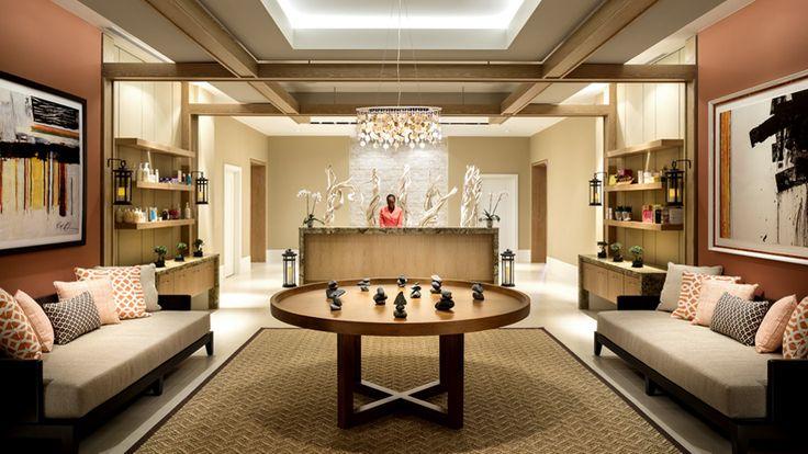 The Ritz-Carlton, Aruba - Spa Reception