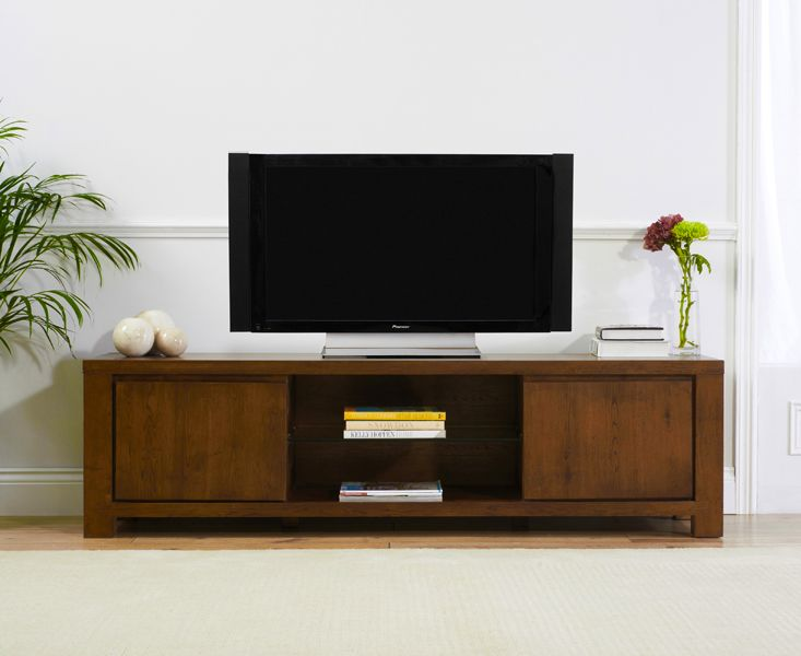 Toscana Dark Oak Large TV Unit