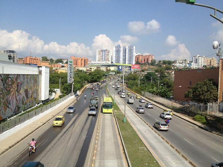 Autopista a Floridablanca. Santander