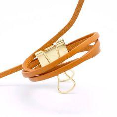 50cm de lanière de cuir plat 3mm camel qualité prémium fabriqué en europe