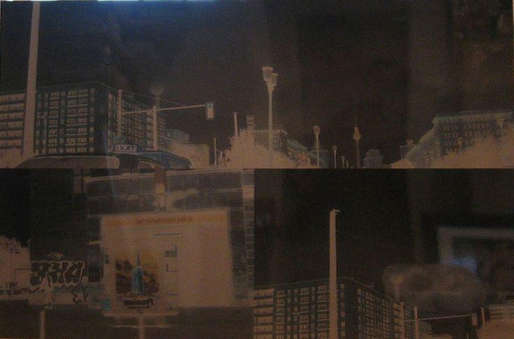 Stefano Cagol, YKS, 2000, Fotografia applicata su alluminio, 105 x 158 cm