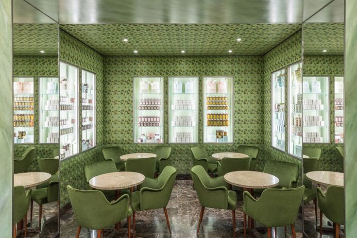 Best Italian Interior Designers – Bar Marchesi designed by Roberto Baciocchi | Milan Design Agenda