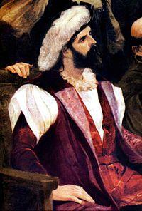 Pedro Alvares Cabral: navegante y descubridor del Brasil, que reivindicó para la corona portuguesa. Exploró toda la costa del noreste de Sudamérica.