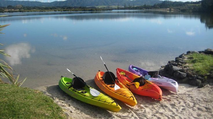 Kayaks Mangawhai Heads, Kaipara, New Zealand http://www.bayleys.co.nz/Listings/Northland/Kaipara/Mangawhai-Heads/1810641
