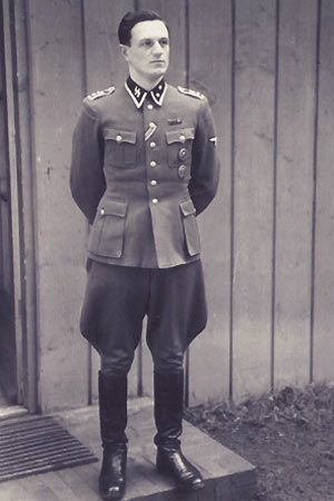 Undated picture of Rochus Misch who served as Adolf Hitler's bodyguard from 1939 until 1945. Mr. Misch was in Hitler's bunker in April 1945 when the Fuhrer committed suicide. Rochus Misch died on September 5, 2013 at the age of 96.