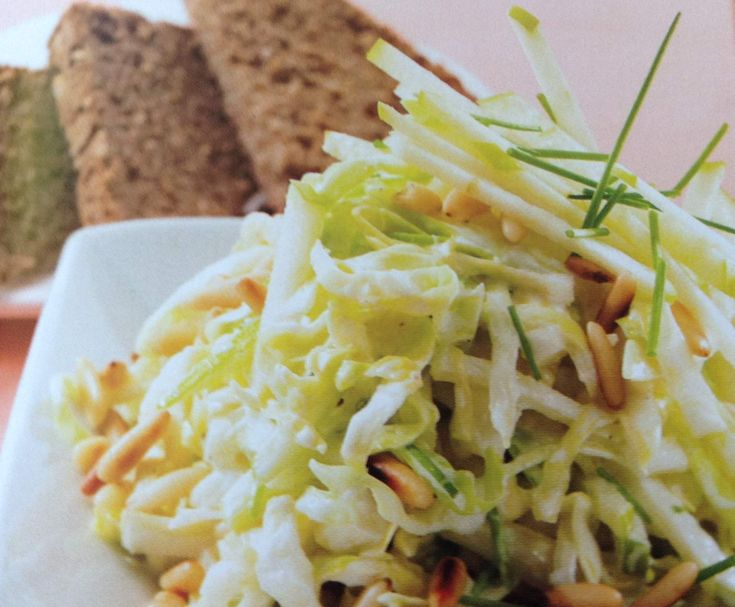 Rezept Spitzkohl-Waldorfsalat von Mitrana - Rezept der Kategorie Vorspeisen/Salate