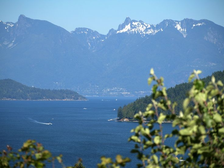 Sunshine Coast, BC, Canada. This is what the view is like when you take the ferry from Horse Shoe Bay to Gibsons. Stunning ferry ride.