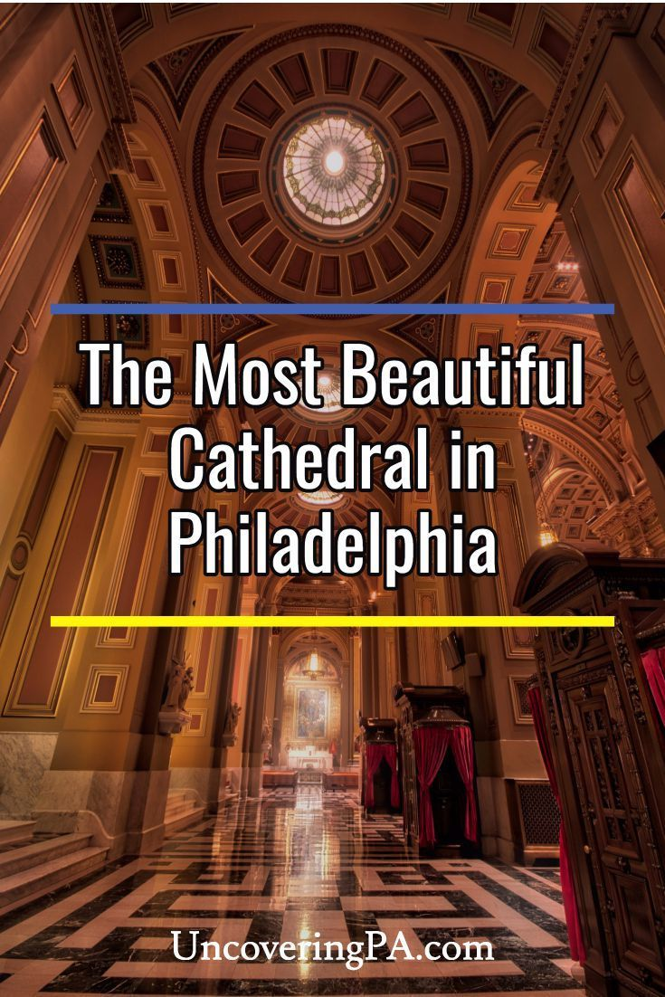 Inside the Beautiful Cathedral Basilica of Saints Peter and Paul in Philadelphia, Pennsylvania via @UncoveringPA
