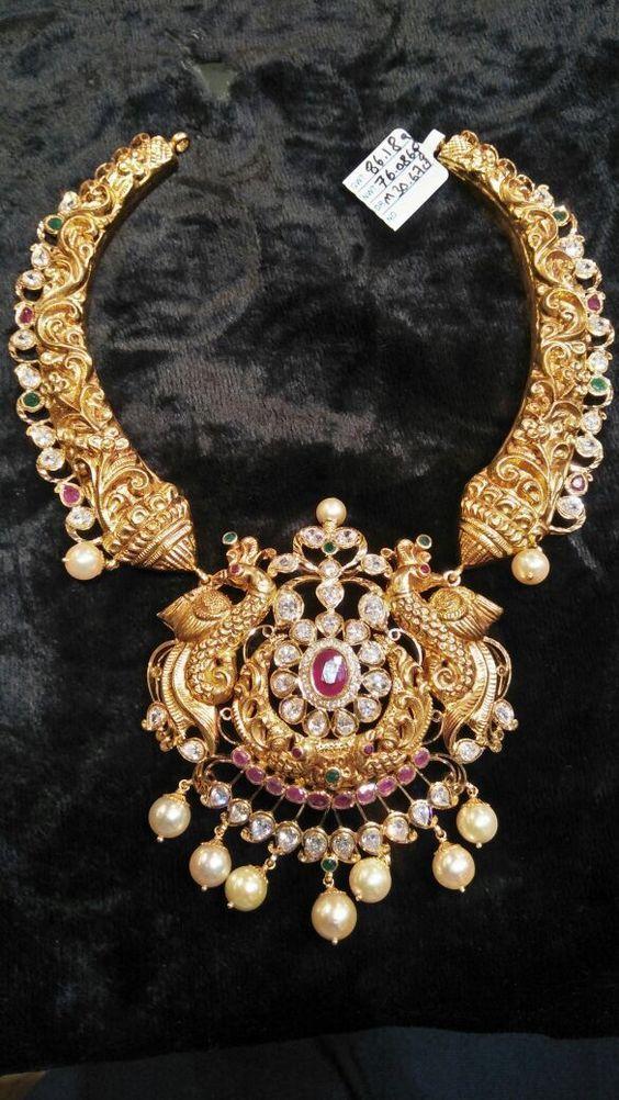 Nakshi Kante Necklace – boutiquedesignerjewellery.com