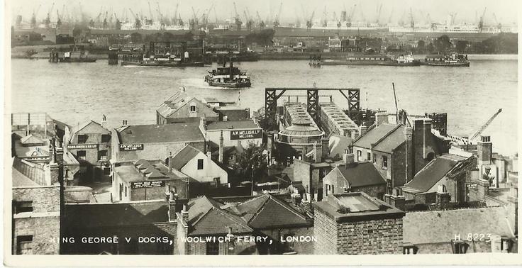 King George V Docks, Woolwich & Free Ferry