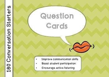 Engelse les idee (Brits Engels): 180 conversatie vragen