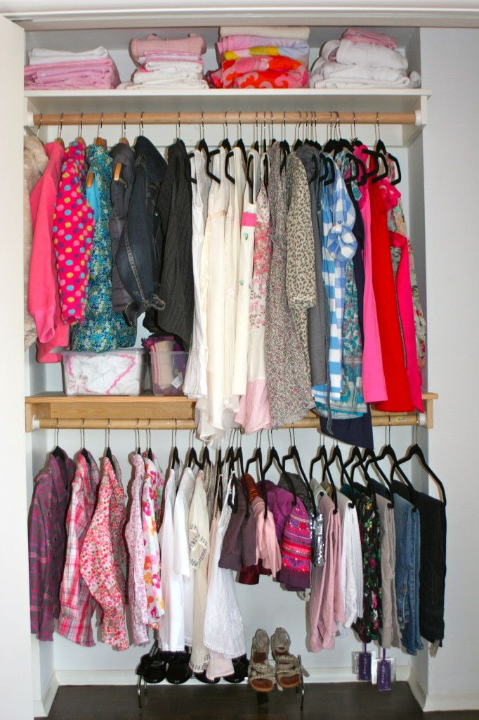 Client Project Girl 39 S Closet Organization Live Simply By Annie Extreme Makeover Bedroom