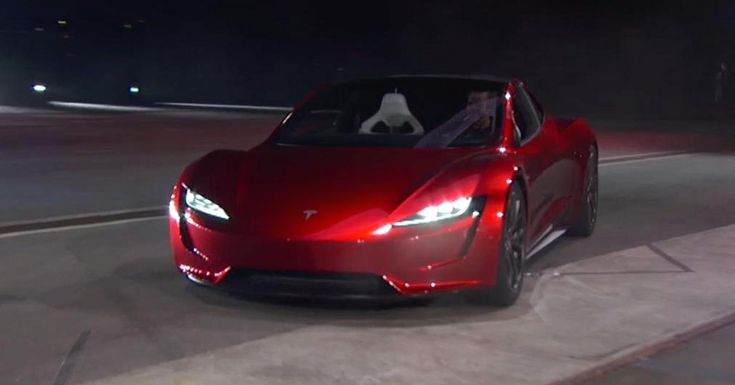 Tesla unveiled its second generation Roadster in Los Angeles on Thursday.