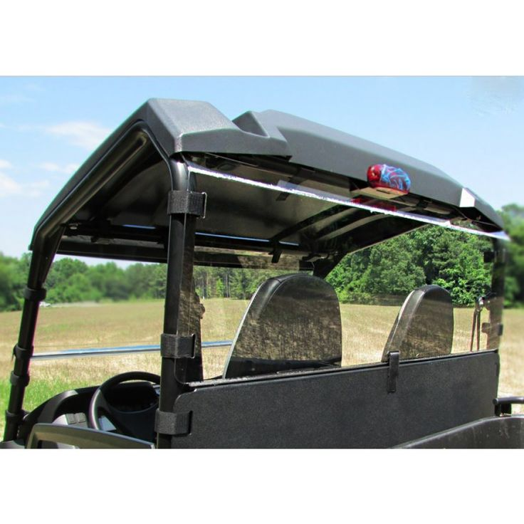 John Deere Gator >> Rear Windshield and Dust Panel for John Deere Gator Mid-Size XUV Fits John Deere Gator 550, 550 ...