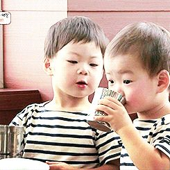 Manse asking for water from Minguk #1/2 | The Return of Superman