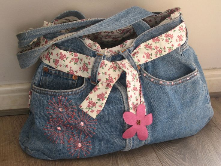 sac a main avec un jean
