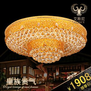 2017 Real Top Fashion Abajur Led Ceiling Lights For Living Room Luxury Quality Bedroom Crystal Lamp Ceiling Light Fitting 9868 #Affiliate