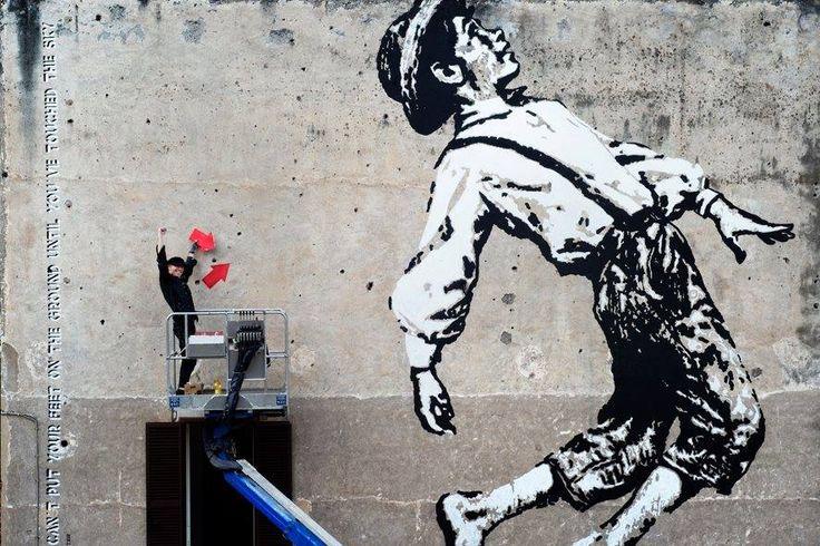 """3/11 ore 19-22 #Angelina a #Testaccio Wunderkammern #Roma  presentazione cataloghi """"Public&Confidential 2013-2014"""",  """"Limitless 2014-2015"""".  10 tra i più influenti artisti urbani della scena internazionale: Dan Witz , Rero Rero, Agostino Iacurci, Aakash Nihalani, JEF AEROSOL, Sam3, Jules L'Atlas, STEN † LEX,  Alexey Luka e Never2501.  #Aperitivo e #DJset."""