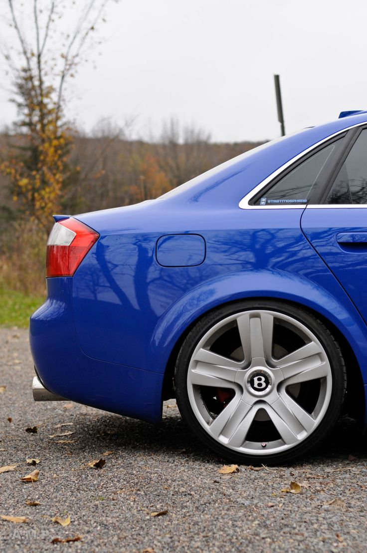 Audi S4 on Bentley wheels - by Anna Moulton Photography.
