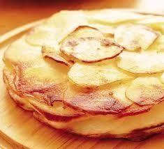Opentaste - Flan of cabbage, potatoes and gorgonzola