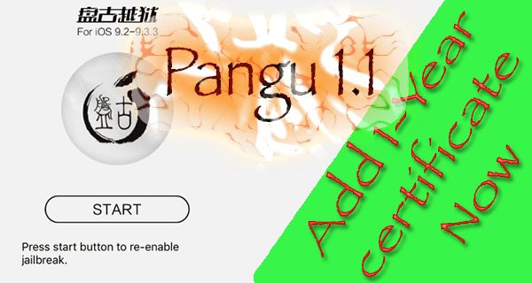 Pangu 1.1 Jailbreak For iOS 9.3.3 Released, Learn What's New