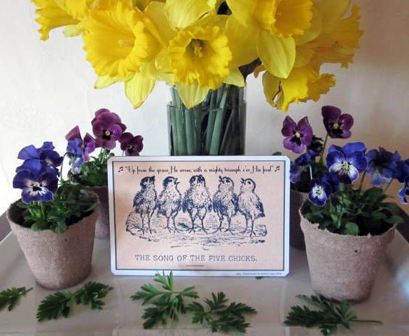 the 10 easter table easter decor thats easy fast and 10 or less - Christian Easter Decorating Ideas