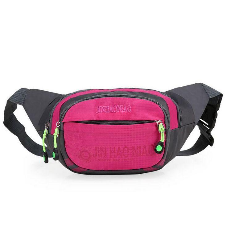 Outdoor Running waist pack sport Female Bag Hip Money Belt Travel waistbag camping Waterproof Fanny Pack