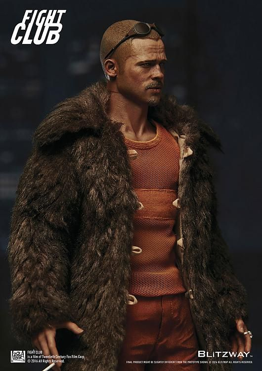 brad pitt fight club buzz cut - photo #30