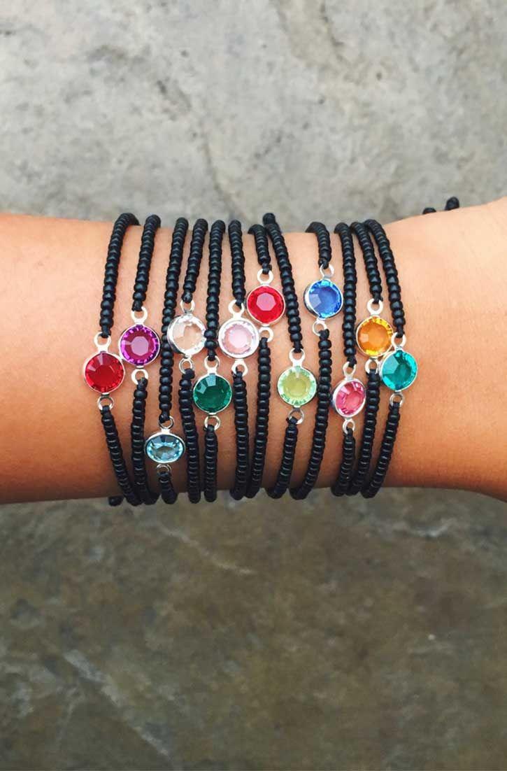 NEW Birthstone Bracelets   Pura Vida Bracelets