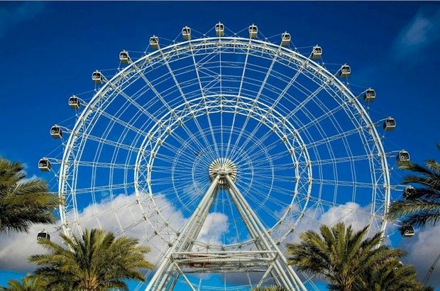 The Orlando Eye at I-Drive 360 on International Drive.  See Orlando as you've never viewed it before.  #orlandoeye http://aboutorlando.com/the-orlando-eye/