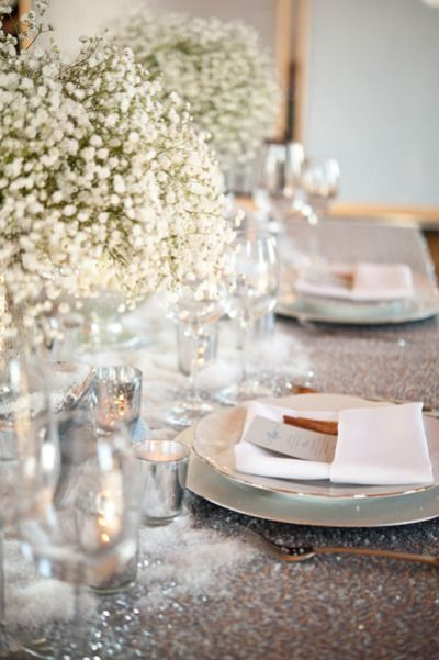 62 best winter wedding love images on pinterest for Table za stolove
