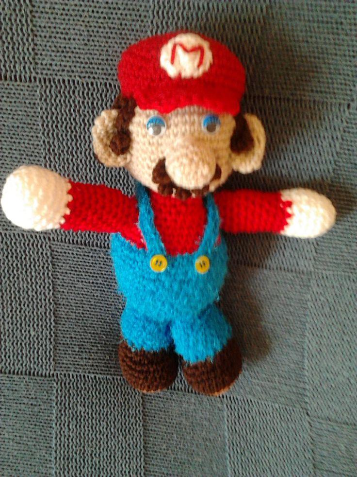 Patron Amigurumi Mario Bros En Espanol : 112 best images about Amigurumis y patrones on Pinterest ...