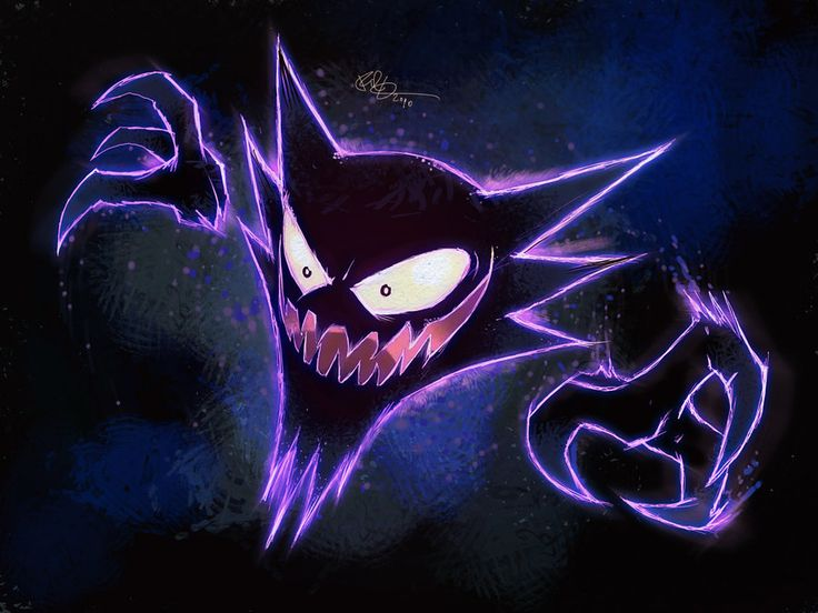 haunter wallpaper red and blue haunter by lord phillock