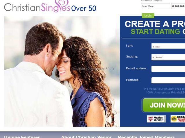 Christian dating over 50 uk