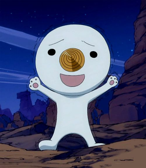 Fairy Tail, Nikora (Plue) Or rave master whichever you sway