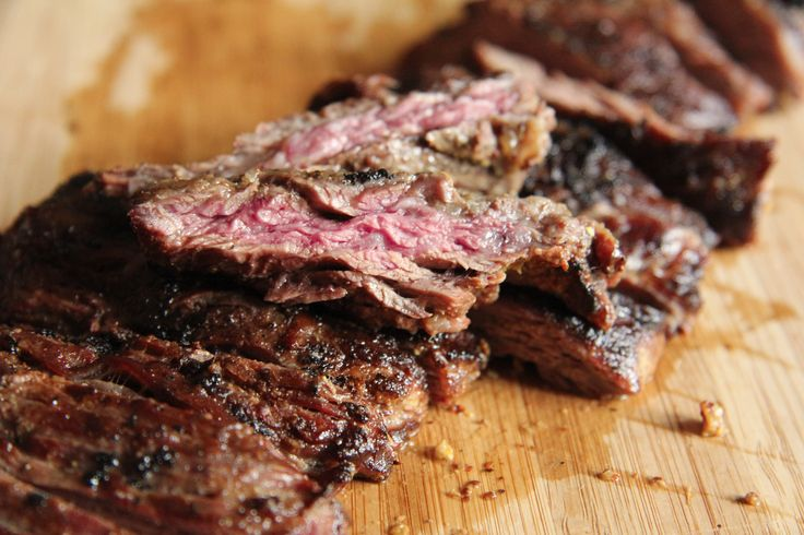 Use leftover pickle juice to brine this grilled skirt steak!