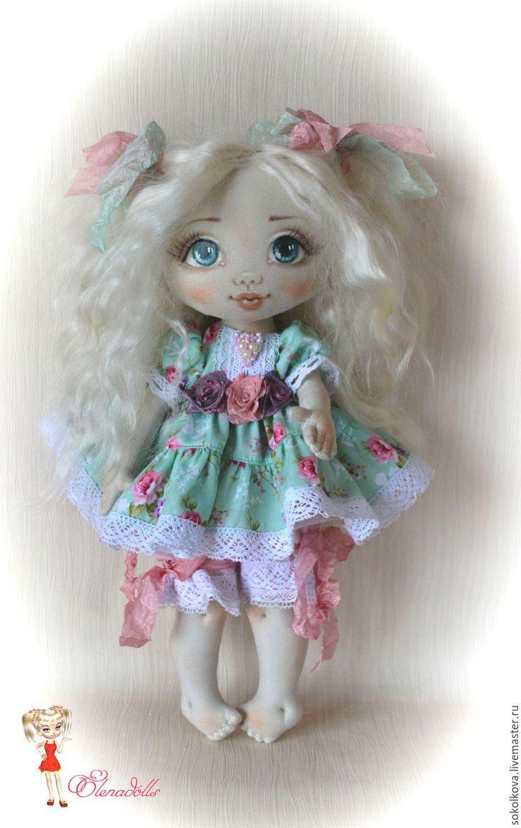 Купить Ангелина. Интерьерная кукла. Ласковый ребёнок) - кукла, кукла текстильная, кукла интерьерная