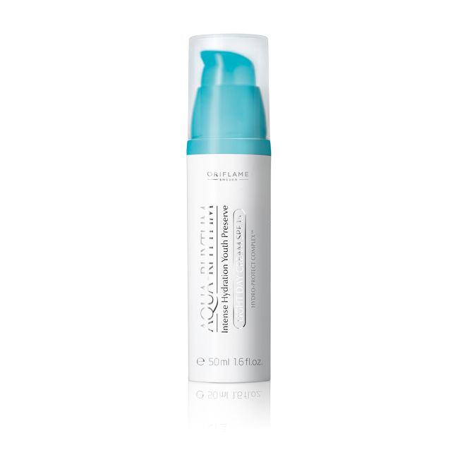 23743 B/S Aqua-Rhythm Intense Hydration Youth Preserve Light Day Cream SPF 15 - Oriflame cosmetics