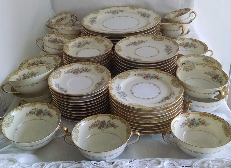35 best noritake images on pinterest tea pots noritake and tea cup noritake china alvin pattern 95649 69 piece set service for ten 10 circa 1933 fandeluxe Image collections