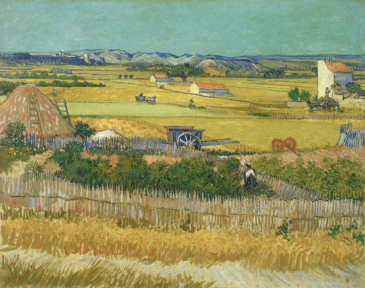 The Harvest by Vincent van Gogh from Van Gogh Museum