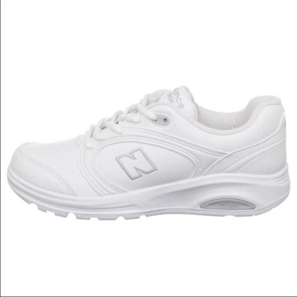 Women's New Balance All white. New. Never worn. Size 7 New Balance Shoes