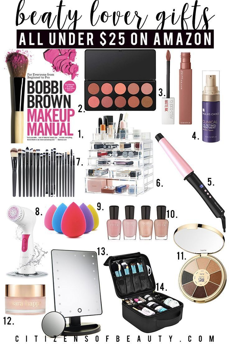 Beauty Lover Gift Guide For Holiday Presents Under 25 For Her Find Makeup Books Eyeshadow Palette Gifts For Makeup Lovers Makeup Christmas Gifts Makeup Gift