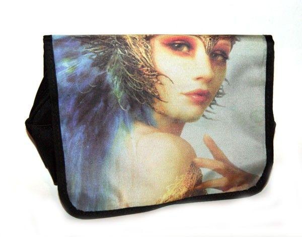 Neszeszer, tündéres, gyöngyvászon - women's bag