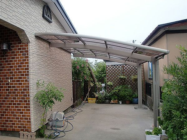 Roof Canopies Amp Garde Aluminum Carport With Polybonate