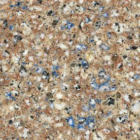 Silestone Blue Sahara Quartz Kitchen Countertop Sample.  Wasn't my choice but need to make it work for now.