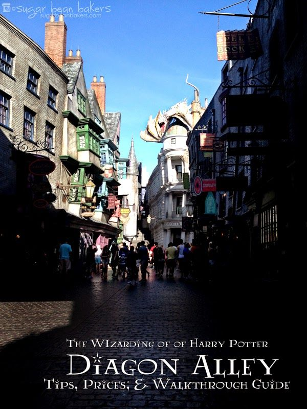 Diagon Alley Report:Tips, Prices, and walk through guide