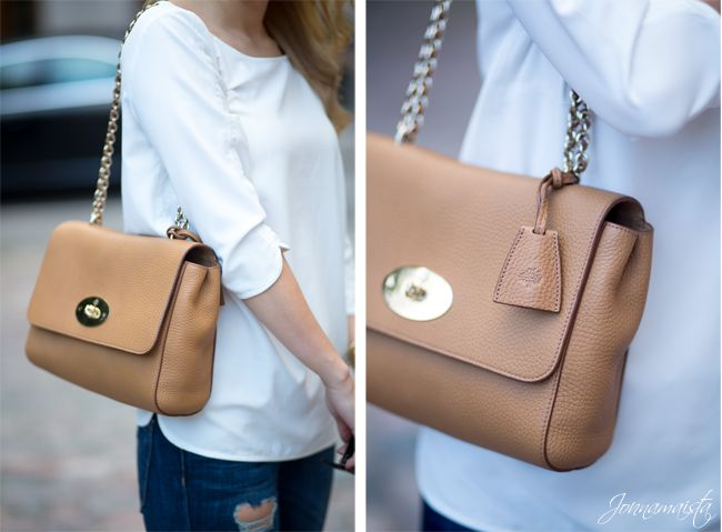 Mulberry Medium Lily in Deer Brown. Want one so bad