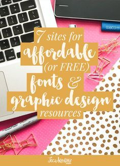 7 Sites for Affordable or Free Fonts and Graphic Design Resources << Jeca Martinez