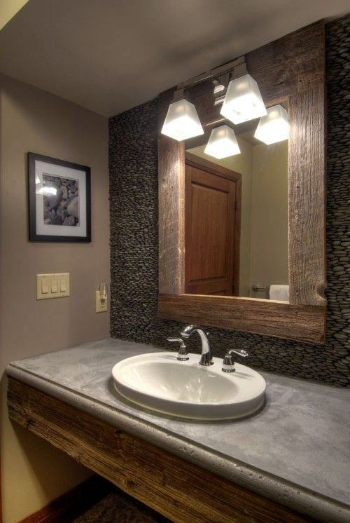 Barnwood Framed Bathroom Mirrors 50 best mirrors images on pinterest | mirrors, crafts and home