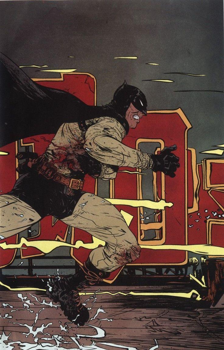 Бэтмен год первый комикс картинки